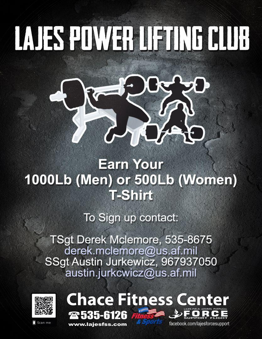 Lajes Power Lifting Club