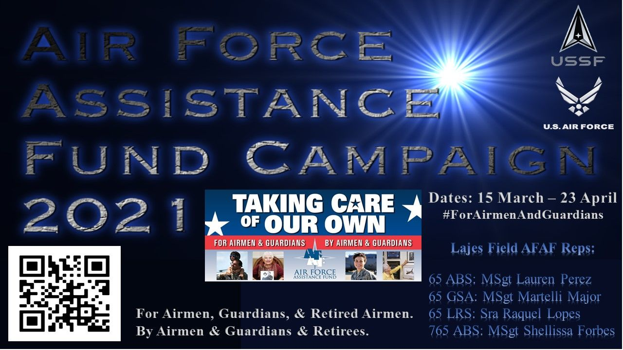 Air Force Assistance Fund Campaign 2021