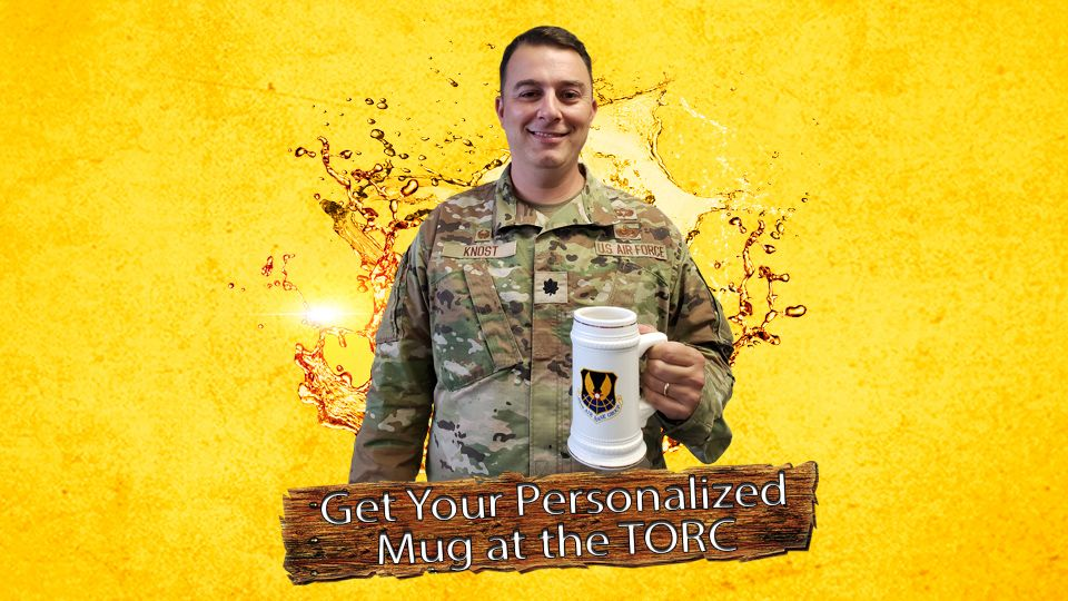 Get Your Personalized Mug at the TORC