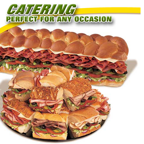 Subway catering